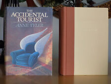THE ACCIDENTAL TOURIST ~ Anne Tyler, 1985 1st Edition, Hardcover w/Dust Jacket