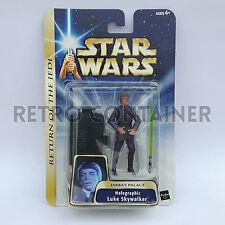 STAR WARS Kenner Hasbro Action Figure - SAGA GOLD - Holographic Luke Skywalker