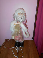 Standing Santa Claus Animated Lights Sounds, Over 2ft Tall, Holding Presents