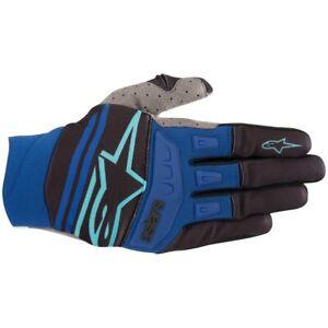 2019 Alpinestars Techstar MX Gloves - Blue Black