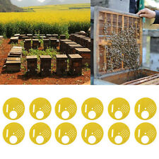 2017 Hot 12 pcs Beekeepers Bee hive Nuc box Entrance gates Beekeeping Equipment