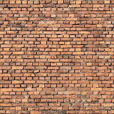 - 8 SHEETS EMBOSSED BUMPY BRICK wall 21x29cm 1 Gauge 1/32 CODE 64RE3M!