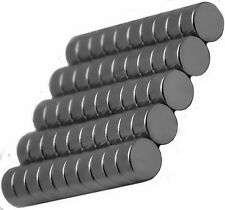6mm x 3mm Disc - Neodymium Rare Earth Magnets, Grade N48