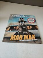 Game Informer Issue #264 April 2015 Mad Max The Road Warrior Returns EUC