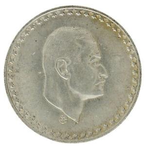 Egypt - Silver 50 Piastres Coin - 'President Nasser' - 1970 - AU