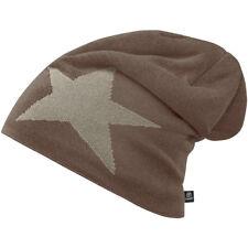Brandit Beanie Ster Cap Winter Gebreide Warm Koud Weer Bont Teddy Hat Taupe