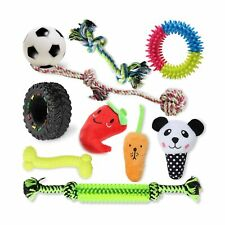 New listing Vecela Puppy Toys for Small Dogs, 10 Pack Small Dog Toys Squeaky Rope Chew To.