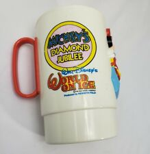 Walt Disney is world on ice Mickey's diamond jubilee souvenir cup (G11)