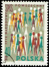 Scott # 1758 - 1970 - ' Poles ', National Census, Dec 8