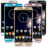 "Cheap Unlocked 5"" Android 5.1 Mobile Smart Phone Quad Core Dual SIM WiFi GPS 3G"