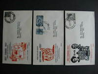 Canada Regal cachet 3 FDC first day covers,Sc 371-2, 373, 374 Hamilton cancels