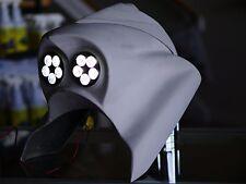 Harley Davidson Road King Extended  Headlight LED Nacelle Bagger