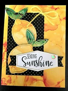 Sending Sunshine Get Well or Blank Any Occasion Handmade Card