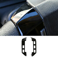 For LandRover Discovery 3 2004-2009 Gloss Black Steering Wheel Button Cover Trim