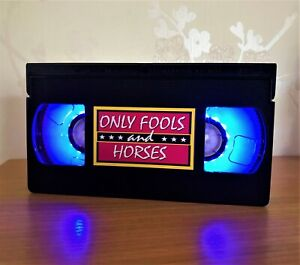 Only Fools And Horses Retro VHS Night Light, Desk Lamp, Bedroom Lamp, Gift