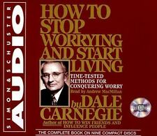 How to Stop Worrying and Start Living by Dale Carnegie (1999, CD, Unabridged)