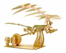 Leonardo Da Vinci Ornithopter: Pathfinders Wood Construction Model Kit Age 9+