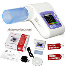 Digital Spirometry Diagnostic Lung Breathing Pulmonary Function Spirometer SW
