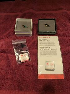 AIR CANADA SERVICE PINS 10 YEAR, 25 YEAR, AND 2014 2016 OLYMPIC