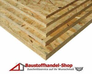 OSB 15mm Platte Grobspanplatte 45€/m² Terrarium Spanplatte Sperrholz Holzplatte