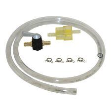 8mm Kraftstoff Leitung Set Benzinschlauch Hahn Klammer Filter für Motorrad NEU