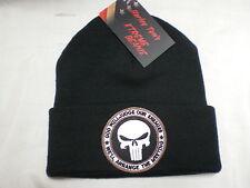 Harley Toms Punisher Xtreme Beanie Knit Hat Doo Rag Biker Skull Cap Snow Boarder