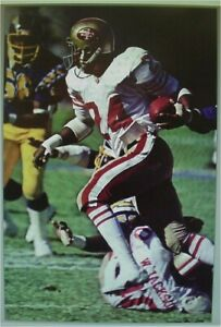DELVIN WILLIAMS - San Francisco 49ers Sports Illustrated SI Like poster 24X36
