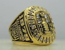 Year 1979 Montreal Canadiens Stanley Cup Championship Copper Ring 8-14Size