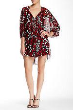 Diane von  Furstenberg  Fleurette Dress  in Floral Petals Poppy US size 2 $398