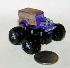 Small Micro Machine Monster Truck Ford Woody Wagon