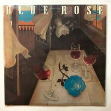 Blue Rose - Self Titled 1982 LP Vinyl Record Classic Rock with PRESS KIT VG+
