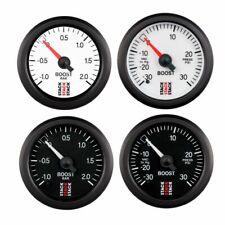 Stack Mechanical Turbo Boost Pressure Gauge White bar