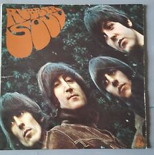 "THE BEATLES RUBBER SOUL 1966 UK PRESS MONO 12"" VINYL RECORD LP 579-4 / 580-4"