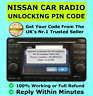 Nissan Radio Code Car Codes Micra Note Qashqai Almera Juke Connect FAST Unlock