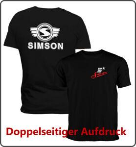 Simson S 51 - T-Shirt - doppelseitiger Druck