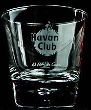 Havana Club Rum, Rum Glas, Frosted Tumbler, El Ron de Cuba, Perle im Fuß