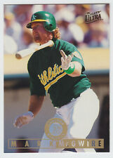 1995 Ultra - Mark McGwire - #94 - Oakland Athletics - NrMt