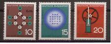 1964 Bund Mi. 440-442 ** postfrisch Fortschritt in Technik und Wissenschaft