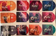 Kylie Minogue - COMPLETE lot of GOLDEN era CARD-SLEEVE Singles - DANCING, SMFF