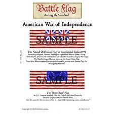 Battle Flag - The Grand Old Union Flag The Betsy Ross (Amer.War of Indep.) -28mm