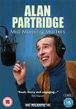 Alan Partridge  'Mid Morning Matters'  DVD  (Brand New)