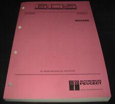 Werkstatthandbuch Peugeot 605 Motor Kupplung Getriebe Achsen Stand 09/1990!