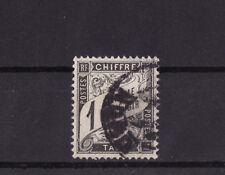 timbre France TAXE   Duval   1c  noir     num: 10   oblitéré