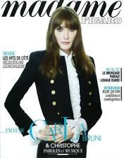 Madame Figaro Magazine #1496,CARLA BRUNI,Marc Jacobs,Rachida Brakni NEW