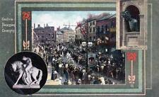 Lady Godiva Procession Coventry unused old postcard Good