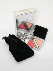 Dior Cristal Shine Lipbalm & Gloss Jewel Palette 001 Cristal Coral New In Box