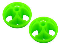 "Lynx Spektrum DX9 Green ""Poison"" Ninja Flex TPU Gimbal Protector Covers LX2535-2"