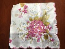 Vintage Hankie, New, Ladies Hankie, Floral