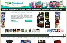 Automated Affiliate Nutrition Store Website Free Installationhosting
