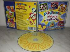 CD PLAYHOUSE - PLAYTIME FUN - DISNEY - MICKEY MOUSE - OSO - LITTLE EINSTEINS
